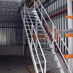 Antresola / schody do podestu 2